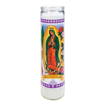 DOLLAR GENERAL Religious Candle - White