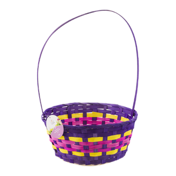Smart Living Traditional Bamboo Easter Basket