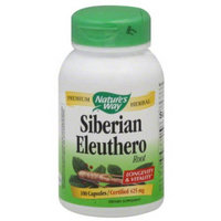 Nature's Way Siberian Eleuthero Root Dietary Supplement Capsules, 425mg, 100 count