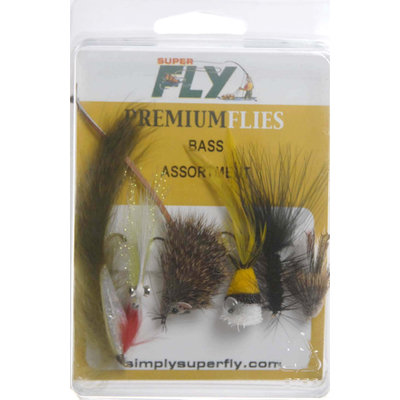 Superfly SuperFly Bass Assortment 6pc