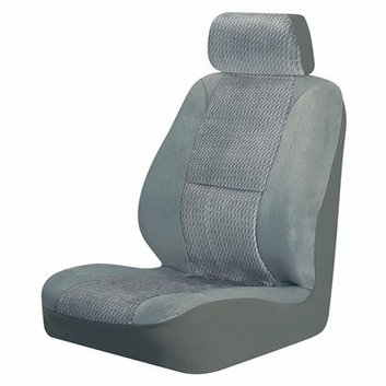 Auto-Expressions Fairfield 2-pk. Low Back Bucket Seat Cover - Gray