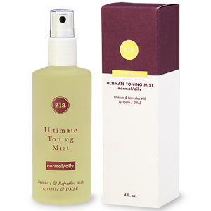 Zia Natural Skincare Ultimate Toning Mist for Normal/Oily Skin