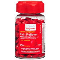 Walgreens Pain Reliever Extra Strength Easy Tablets, 150 ea