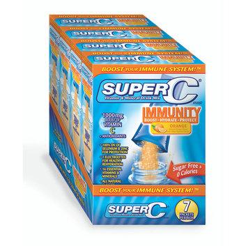 Super C Immunity Orange Vitamin & Mineral Drink Mix