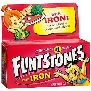 Flintstones Children's Multivitamin with Iron