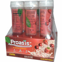 Protica Nutritional Research Proasis Clear Protein Shots Fruit Punch Case of 6 2.9 oz