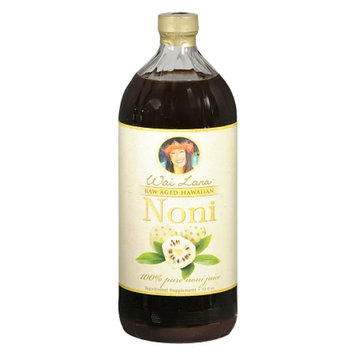 Wai Lana Raw Aged Hawaiian Noni Juice Nutritional Supplement