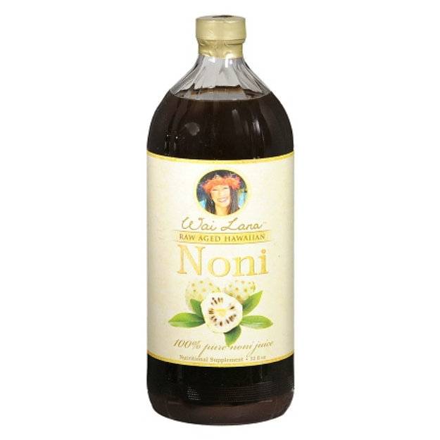 Wai Lana Raw Aged Hawaiian Noni Juice Nutritional Supplement