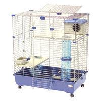Marchioro Sara 2 Tier Multi-Level Small Animal Cage