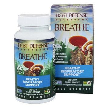 Host Defense Organic Mushrooms Fungi Perfecti - Host Defense Mushrooms Breathe - 60 Vegetarian Capsules
