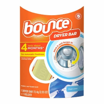 Bounce Dryer Bar Fabric Softener 4 Month Bar, Fresh Linen, 1 ea