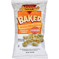 Michael Season's Baked White Cheddar Pops, 4 Ounce Bags (Pack of 12)