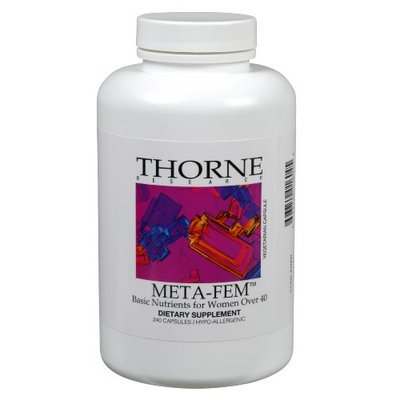 THORNE RESEARCH - Meta-Fem (Basic Nutrients For Women Over 40) - 240ct