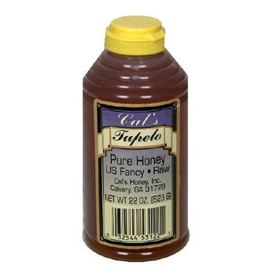 Cal's Honey, Tupelo, 22-Ounce Squeeze Bottle (Pack of 3)