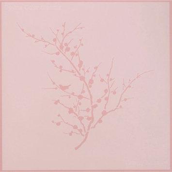 Devine Color 12x12in. Reusable Wall Stencil - Cherry Blossom