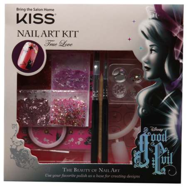 Kiss Disney Kit Good vs Evil Nail Art Kit