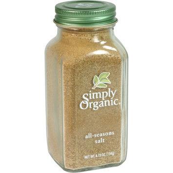 Simply Organic Certified Organic All-Seasons Salt