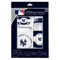 MLB New York Yankees 3Pc Baby Gift Set - 3M+