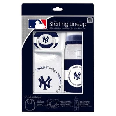 MLB New York Yankees 3Pc Baby Gift Set - 3M+