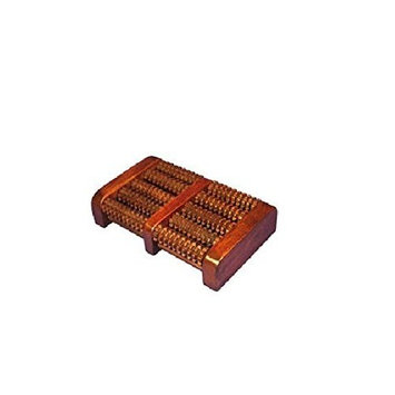 EXP Handcrafted Teak Wood Foot Massager