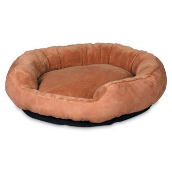 Petmate 18 inch Pet Bed Deluxe Nuzzler 27158