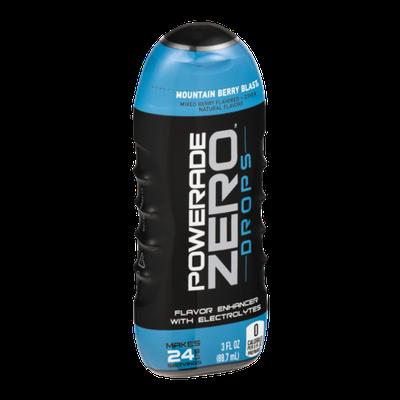 Powerade Zero Drops Flavor Enhancer with Electrolytes Mountain Berry Blast