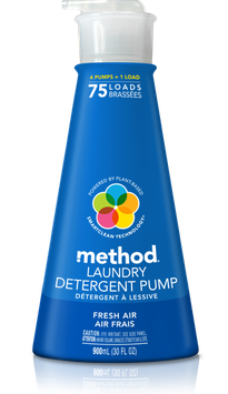 method Laundry Detergent Pump Fresh Air