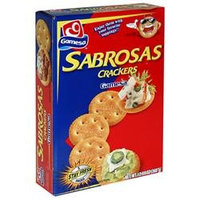 Gamesa Usa Inc. Sabrosas Crackers, Buttery, 5 - 2.5 oz (72 g) packs [12.6 oz (360 g)]