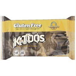 Kinnikinnick Foods KinniTOOS Fudge Sandwich Creme Cookies Gluten Free - 8 oz