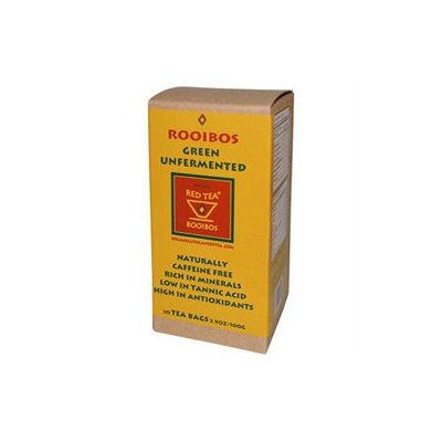African Red Tea Imports Organic Rooibos Natural Flavor - 20 Tea Bags