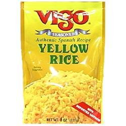 Vigo Industries Rice Yellow Stand Up Bag -Pack of 12