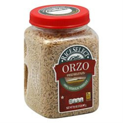 RiceSelect Orzo Whole Wheat Pasta