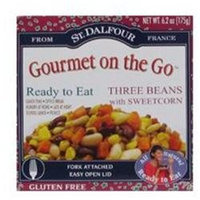 St. Dalfour Gourmet On The Go, Ready to Eat Three Beans