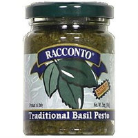 Racconto Traditional Basil Pesto Sauce 6.3 Oz Pack Of 6