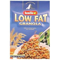 Familia Low-Fat Granola Cereal, 21 oz Boxes, 6 pk