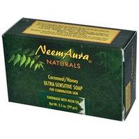 Neemaura Naturals 0813063 Naturals Ultra Sensitive Soap Cornmeal Honey - 3.5 oz