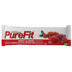 PureFit - All-Natural Nutrition Bar Berry Almond Crunch - 2 oz.