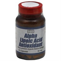 Only Natural Alpha Lipoic Acid Antioxidant - 45 Capsules - Alpha Lipoic Acid
