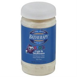 Queen Helene Beauty Products Mineral Bath Salt Kids Cold & Flu 12 Oz