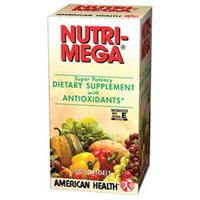 American Health Nutri Mega Super Potency With Antioxidants - 60 Softgels