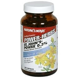 tures Herbs St. John's Power 0.3% by Nature's Herbs - 180 Capsules