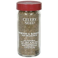 Morton & Bassett Morton and Bassett Spices Celery Seed, 1.9 oz, - Pack of 3