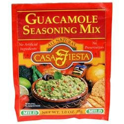 Casa Fiesta Guacamole Seasoning 1-Ounce Packages -Pack of 24