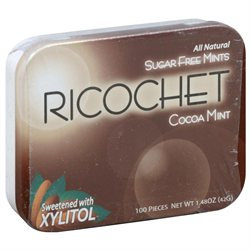Xylitol USA - Xyla Naturally Sugar Free Mints Cocoa Mint - 100 Pieces