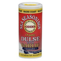 Maine Coast Sea Vegetables - Sea Seasonings Organic Dulse with Garlic - 1.5 oz.