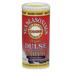 Maine Coast Sea Vegetables - Sea Seasonings Organic Dulse with Garlic - 1.5 oz.