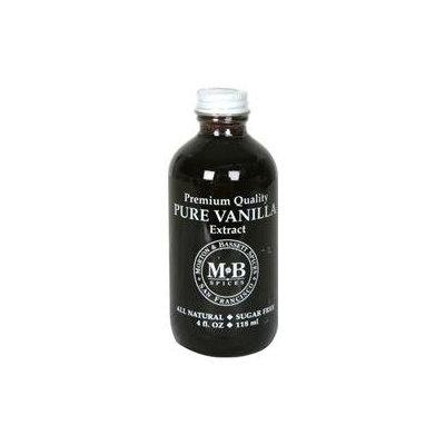 Morton & Bassett B28807 Morton & Bassett Pure Vanilla Extract -3x4oz