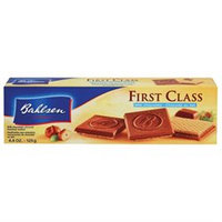 Bahlsen First Class Wafers Milk Chocolate Hazelnut - 4.4 oz