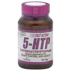 Only Natural 5 HTP 50mg 45 Caps