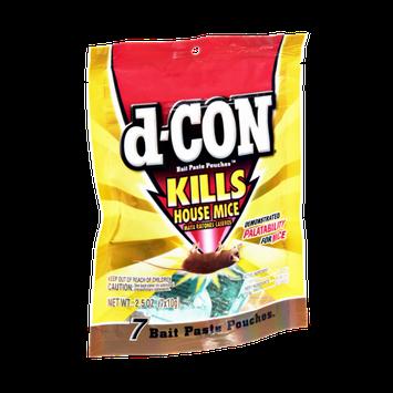 D-Con Kills House Mice Bait Paste Pouches - 7 CT